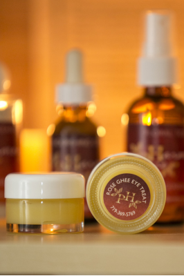 Rose Ghee Eye Treat - .5 oz.